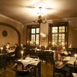 The restaurant at Den Gyldene Freden