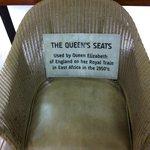 Queen's seat