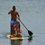 Close to Wells Harbor for some Paddle Boarding fun!
