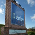 The entrance to Denby Visitor Centre