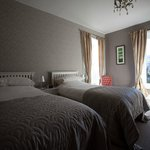 Bedroom at The Manse bed and breakfast in Reeth in the Yorkshire Dales
