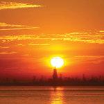 Experience Southampton's beautiful sunsets.
