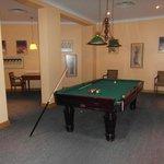 Pool & chess room room