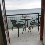 The rooms have view the sea