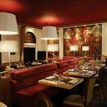 Murals on 54 Restaurant Foto