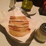 Complimentary Garlic Bread