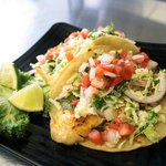 Fish Tacos - Grilled vish, cilantro slaw, tomato fresca and our chipotle pepper remoulaude