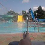 scivoli della piscina olimpionica.