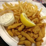 Fried Clam Platter