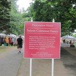 Salem Common, next to hotel
