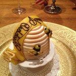 Special anniversary dessert