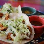 Acheote Chicken Tacos