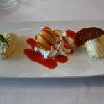 ons dessert bij het 3-gangen menu