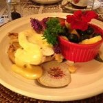 Crab Benedict for Breakfast...Amazing!