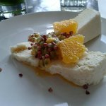 Orange and Passion fruit cheesecake