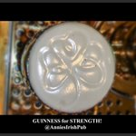 Guinness with it's shamrock