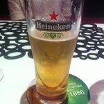 La bière sans mousse....