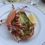 the half a lobster for lunch tasted divine!!! mmmm