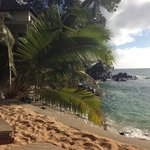 vue plage privée