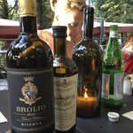 The wines are superb as well as the olio di olive