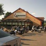 il ristorante e le nostre moto