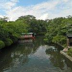 Serene pond.