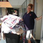 Vanessa, one of the housekeepers!