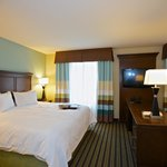 Spacious guest rooms and suites with working area