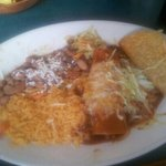 lunch combo taco & enchilada