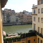 View of the Arno from the room