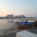 View of Tigne Point from Cockney's in Valletta