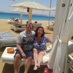Kenny and Susanna McNab, Premier Romance Boutique Hotel, Sahl Hasheesh, 2013