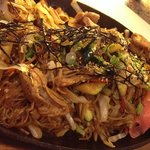 chicken yakisoba~ One of our must try item:)