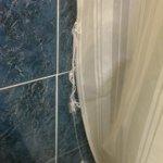 Curtain falling apart