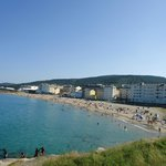 Playa Portelo-Burela en  Julio 2013