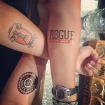 Sweet tattoos we got hooked up with!