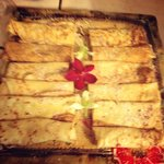 Crepes prepared for our guests