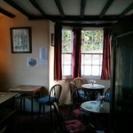 One of the cosy pub rooms