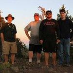 Top of Cultus MT at Sunset