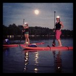 Full Moon Paddling in July