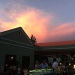 Terrace Bar at sunset
