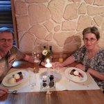 Anniversary meal in the Matterhorn Restaurant