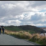 View as we walked into Clifden