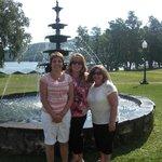 Girls having fun at Fort Henry William Grand Hotel