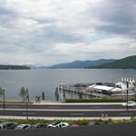 View of Lake George from the Hotel grounds