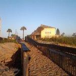 sun deck from the beach....