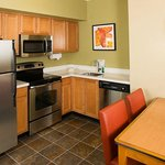 Kitchen in guest suite full size appliances
