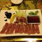 salade de tataki de boeuf
