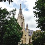 Basilica of Sacred Heart on Notre Dame Campus