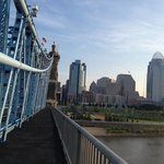 Take a 10 minute walk down to and across the Ohio River